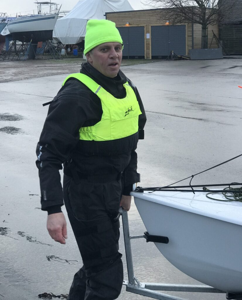 Håkan was a driving force to get us all on the water during the holidays